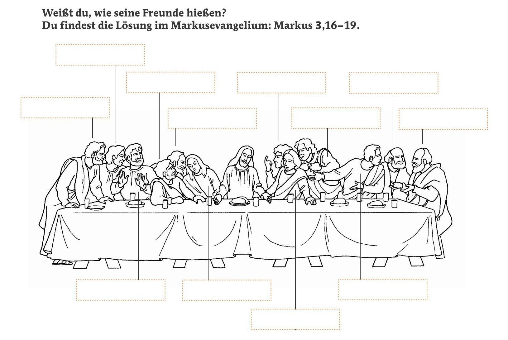 Awesome Karwoche Arbeitsblatt Picture Collection - Kindergarten ...
