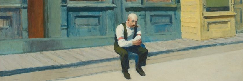 Edward Hopper: Sonntag, 1926, The Phillips Collection, Washington, D.C.